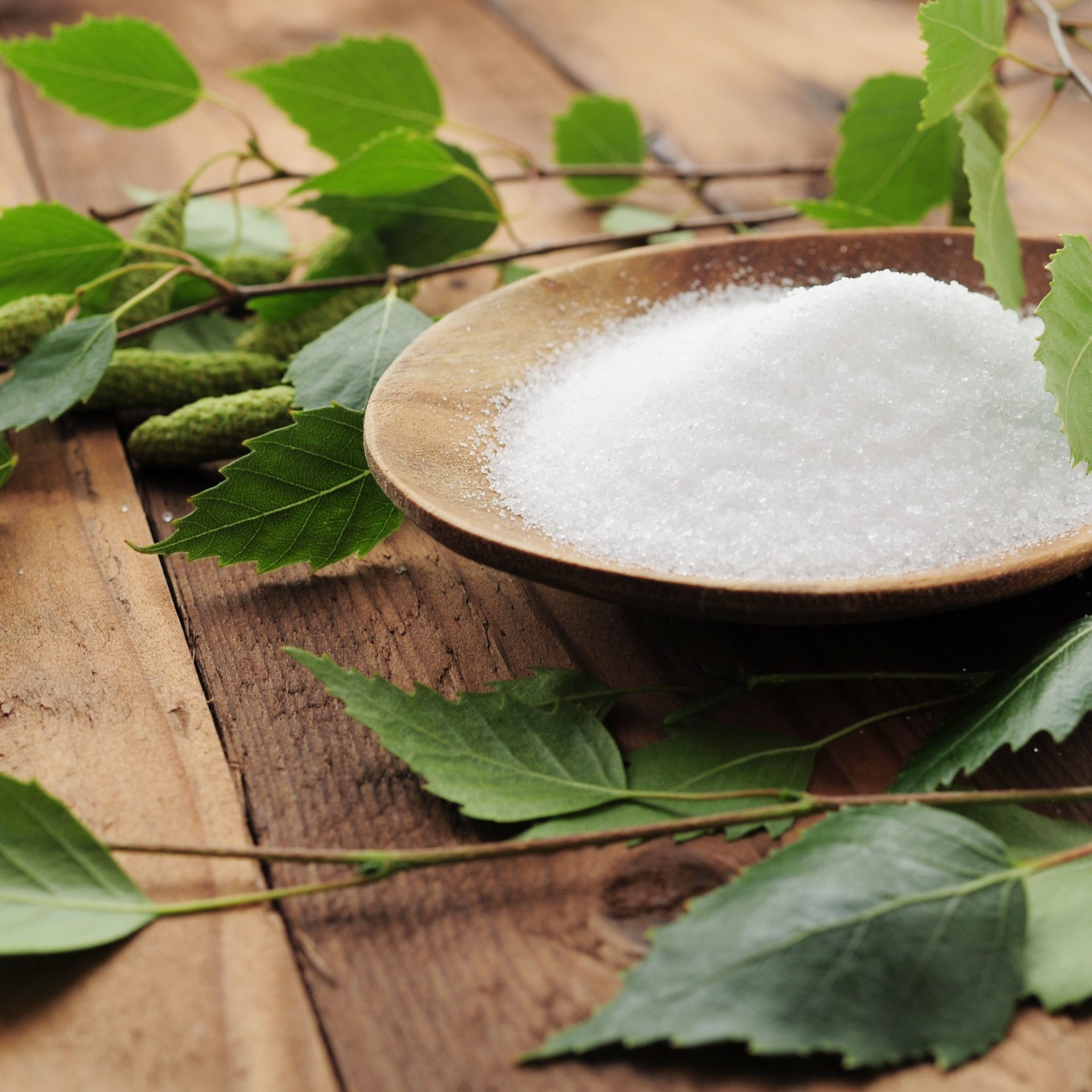 Natürliche Süßungsmittel wie Stevia und Zuckeralkohole und Polyole im Vergleich