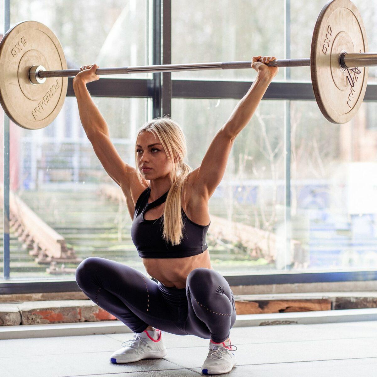 Marie Steffen - Snatch - Weightlifting